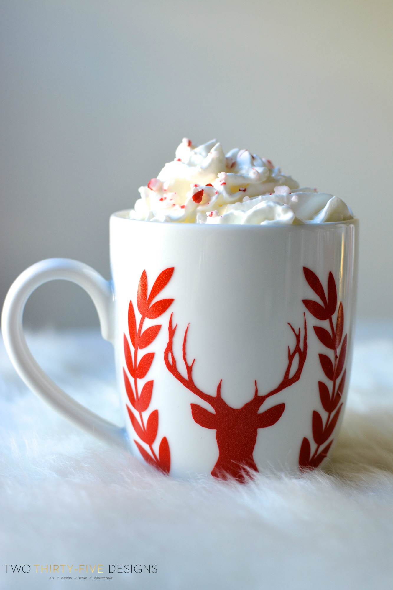 Peppermint Hot Chocolate Bar And 5 Easy Christmas Crafts
