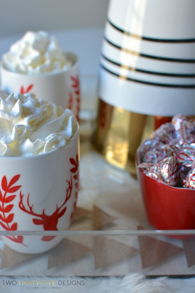 Peppermint Hot Chocolate by Two Thirty~Five Designs