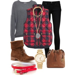 Plaid and Check Inspiration Outfits