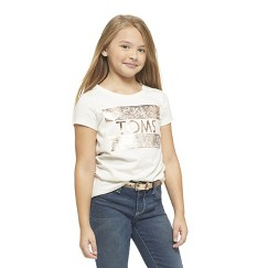 TOM's For Target ~ Girls Logo T-Shirt