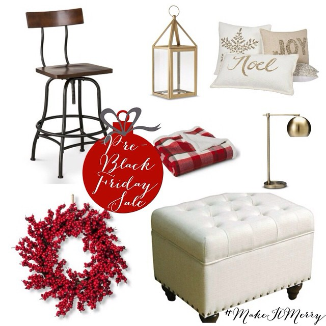 pssst....I have a little secret for you guys. I have teamed up with @target to help you guys get your house ready for the holidays (or tackle your Christmas list ☺️)! Make sure you have downloaded the @target cartwheel app today and catch the massive #preblackfriday sales available Tuesday and Wednesday only! Hey, we all know up to 40% off can be magical ?. #MakeItMerry #TargetPartner ~clickable link in profile