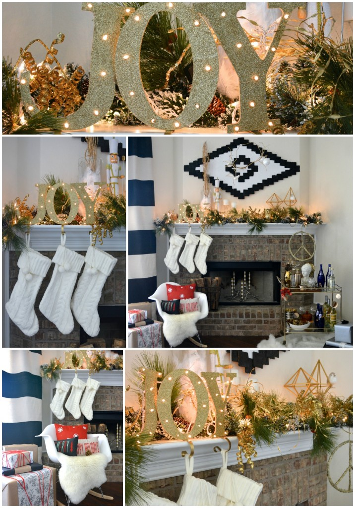 DIY JOY Stocking Holders with Two Thirty~Five Designs