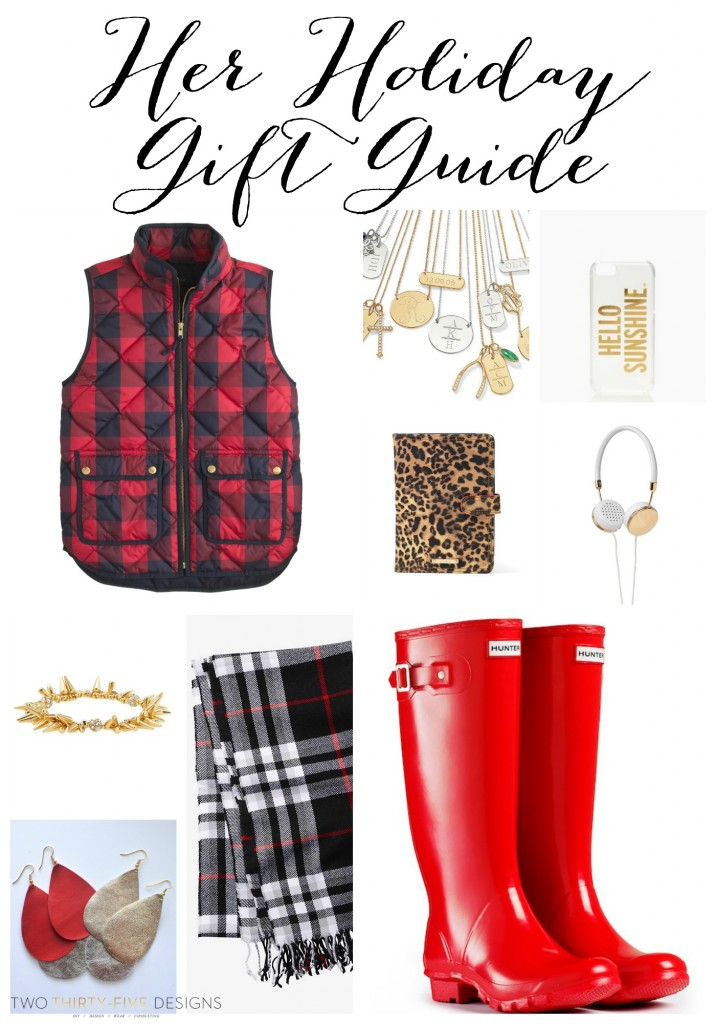 Her Holiday Gift Guide by Two Thirty~Five Designs