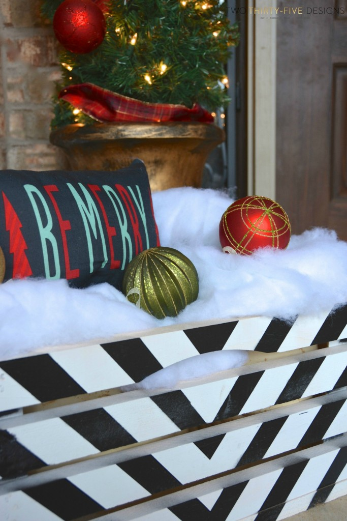 Holiday Front Porch by Two Thirty~Five Designs