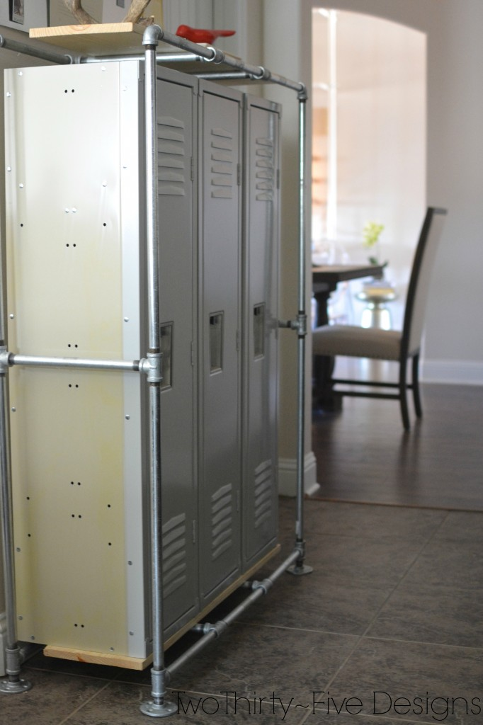Industrial Locker System by Two Thirty~Five Designs