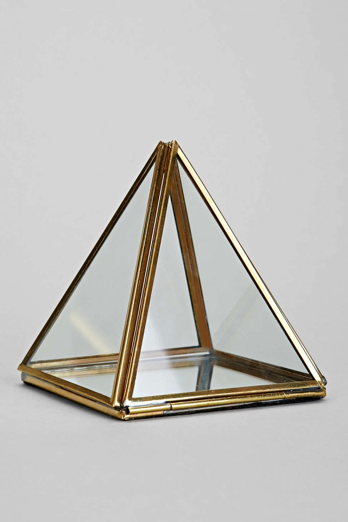 Pyramid Mirror Box