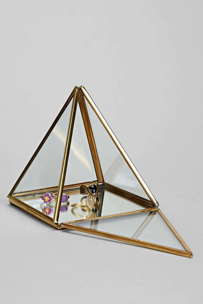 Pyramid Mirror Box by Urban Outfitters