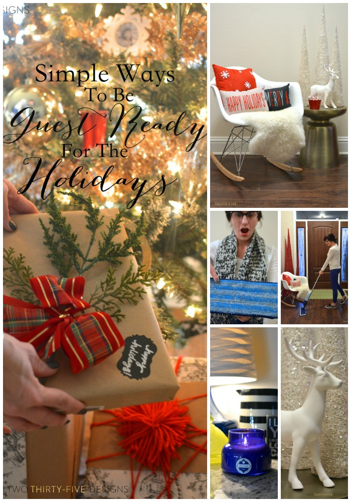 Simple Ways to be Ready for the Holidays by Two Thirty~Five Designs