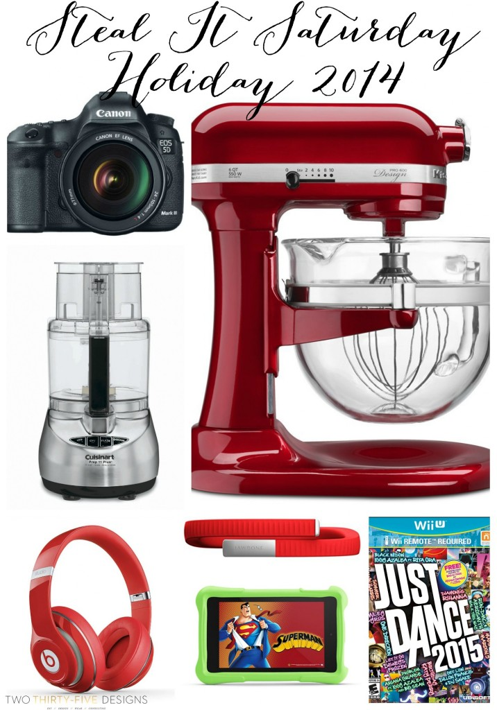 Amazon some insane deals right now, over half off! Cuisinart, KitchenAid, Canon, Beats by Dre, Jawbone, Kindle Fire, Wii U