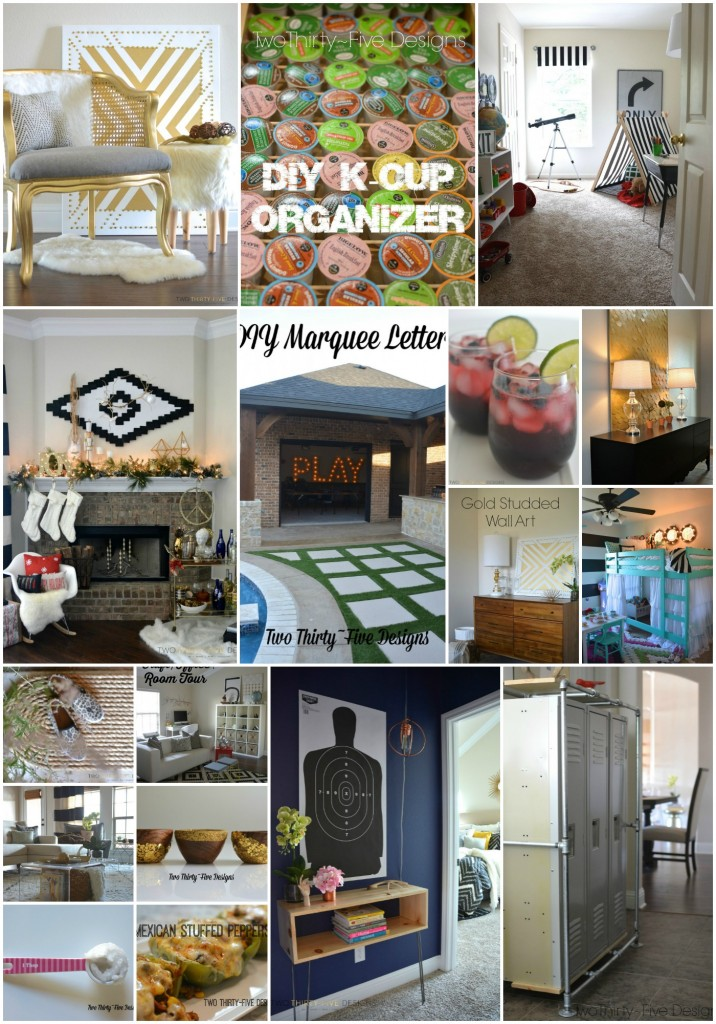 Top 25 of 2014 by Two Thirty~Five Designs