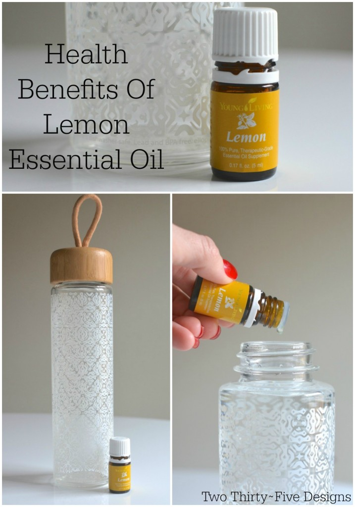 Benefits of Lemon Essential Oil by Two Thirty~Five Designs