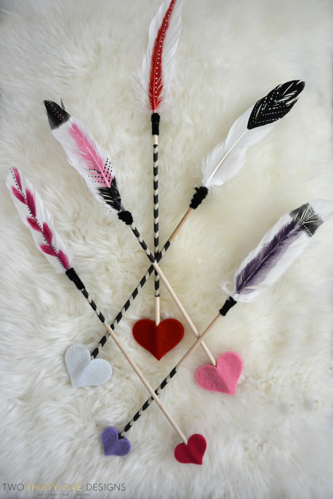 DIY Arrows by Two Thirty~Five Designs