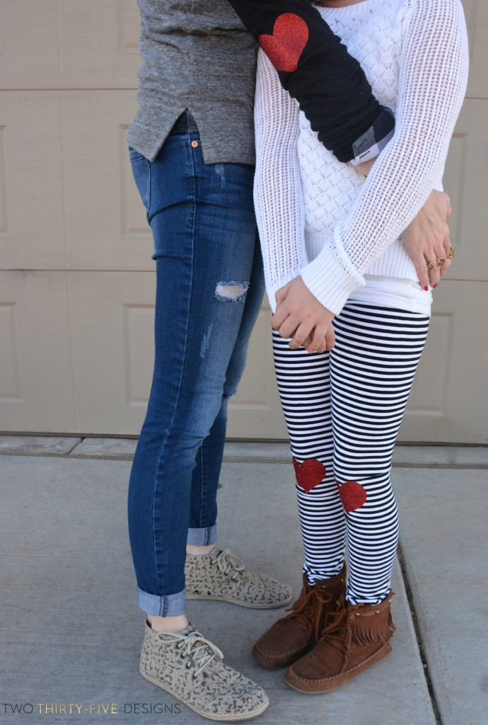 DIY Heart Patches by Two Thirty~Five Designs