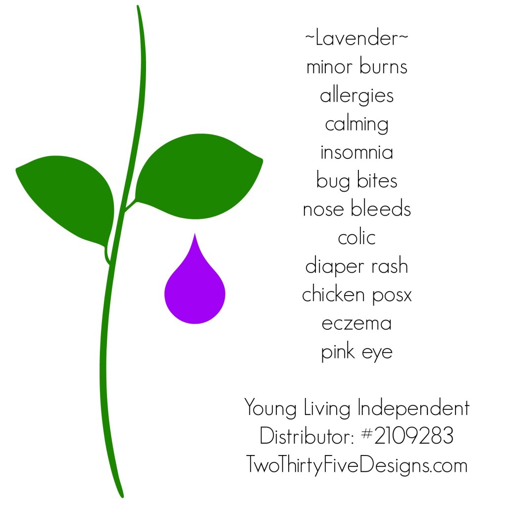 Lavender Uses by Two Thirty~Five Designs