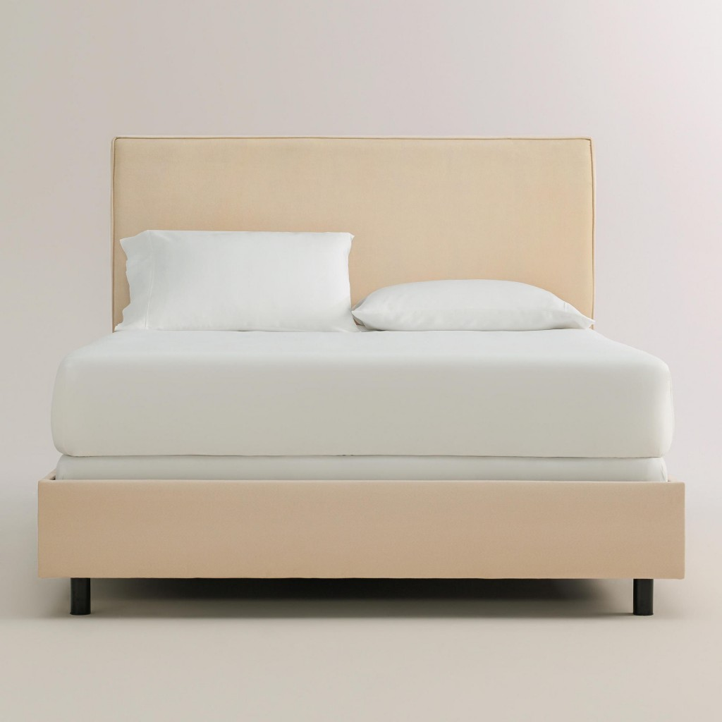 Micro Suede Loran Bed World Market