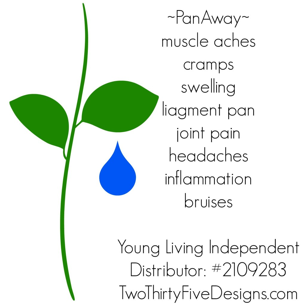 Pan Away Essential Oil Uses by Two Thirty~Five Designs