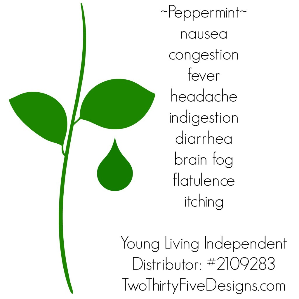 Peppermint Essential Oil Uses by Two Thirty~Five Designs