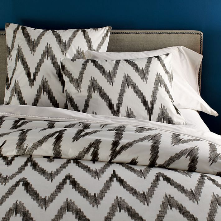 West Elm Chevron Duvet Cover
