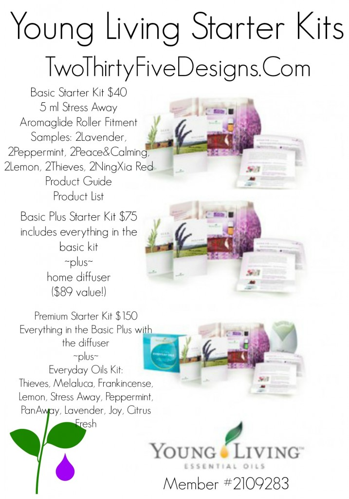 Young Living Starter Kits by Two Thirty~Five Designs