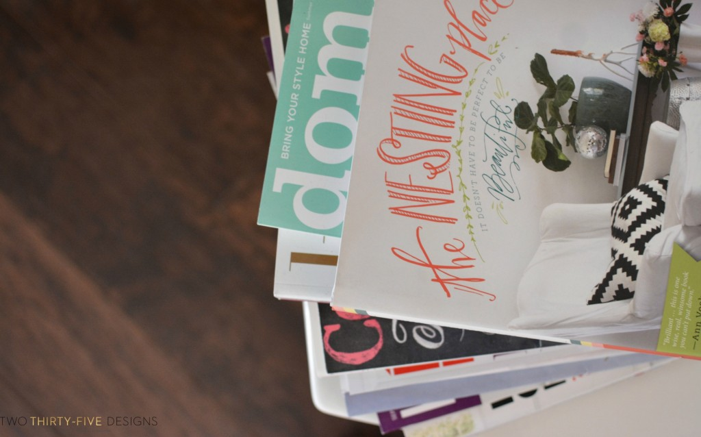 Magazine Stack Two Thirty~Five Designs