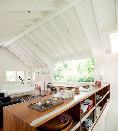 Planked Arched Ceiling