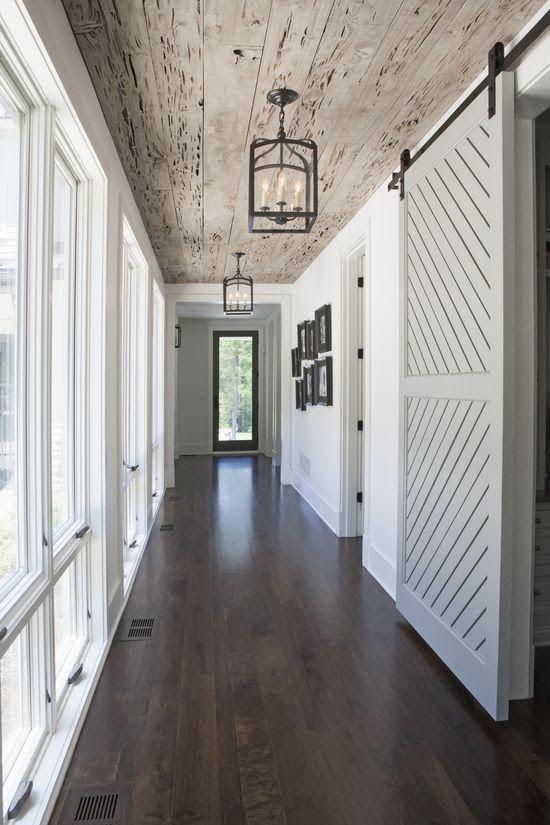 Planked Hallway