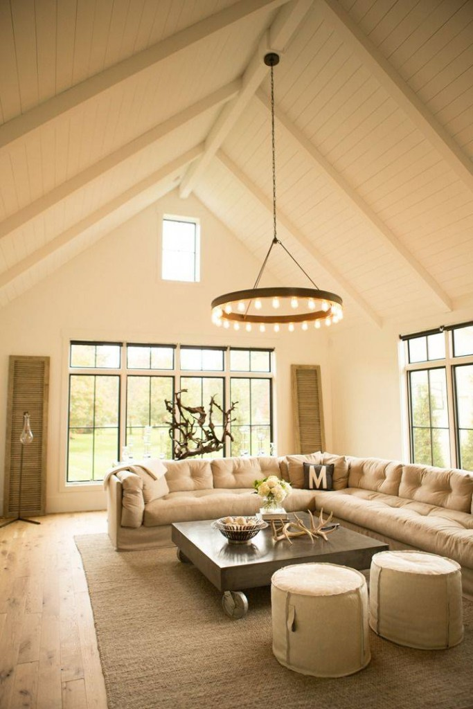 Planked Living Room