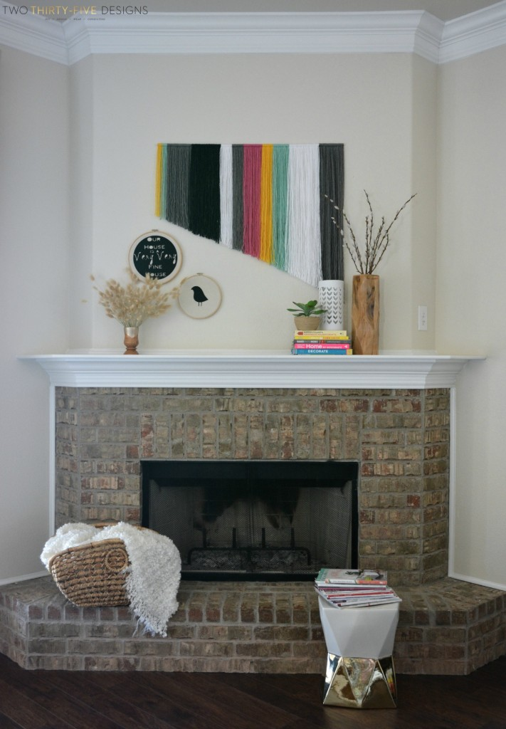 Simple Mantel Two Thirty~Five Designs