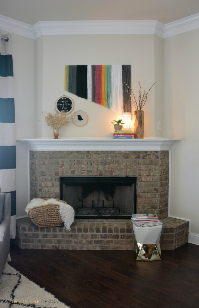 Spring Mantel Two Thirty~Five Designs