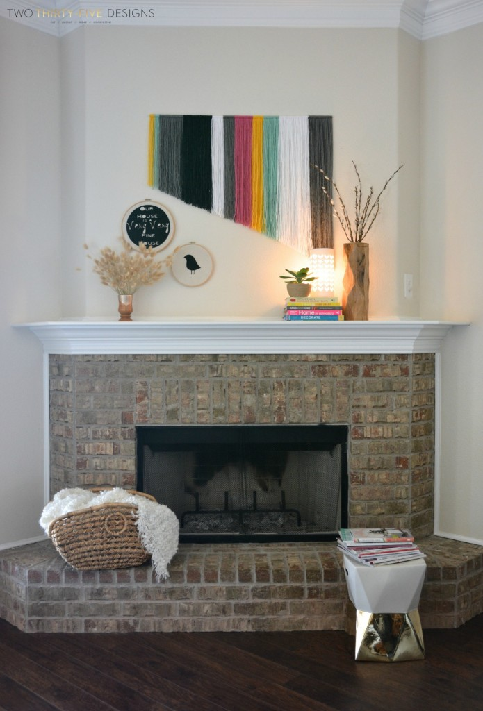 Spring Mantel by Two Thirty~Five Designs