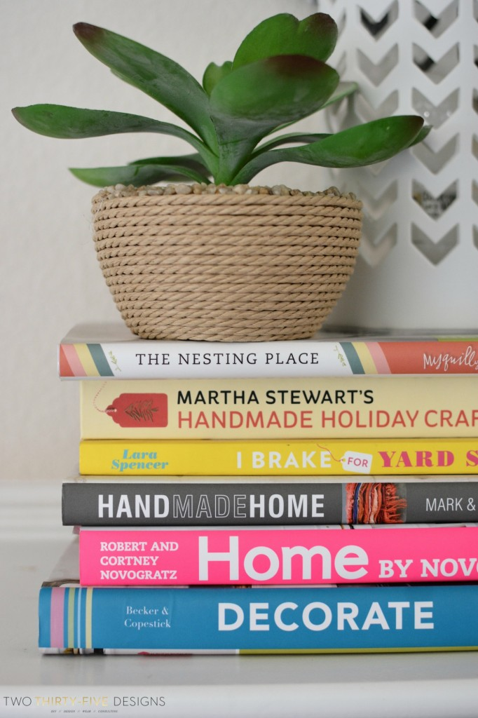 Stack of Books Two Thirty~Five Designs
