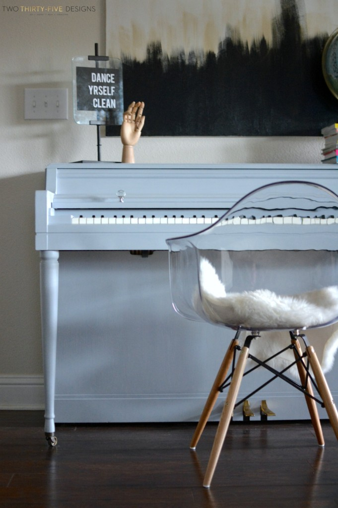 Chalk Paint Piano by Two Thirty~Five Designs 2