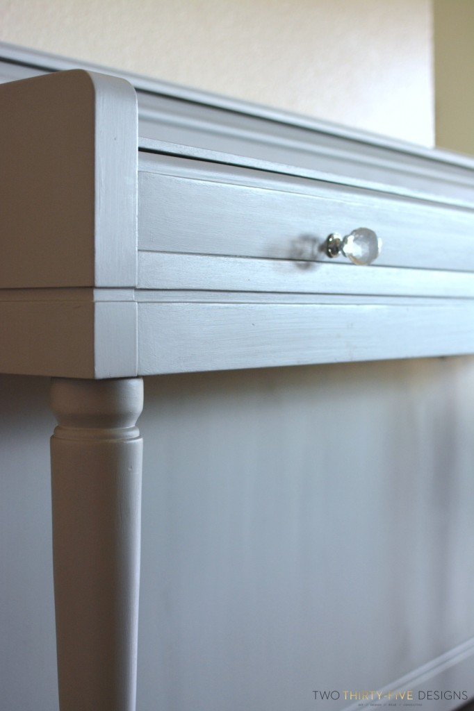 How to Paint a Piano Gray by Two Thirty~Five Designs 1