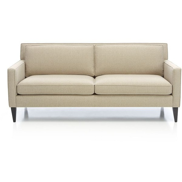 Neutral Living with a Crate and Barrel Sofa by Two Thirty Five Designs