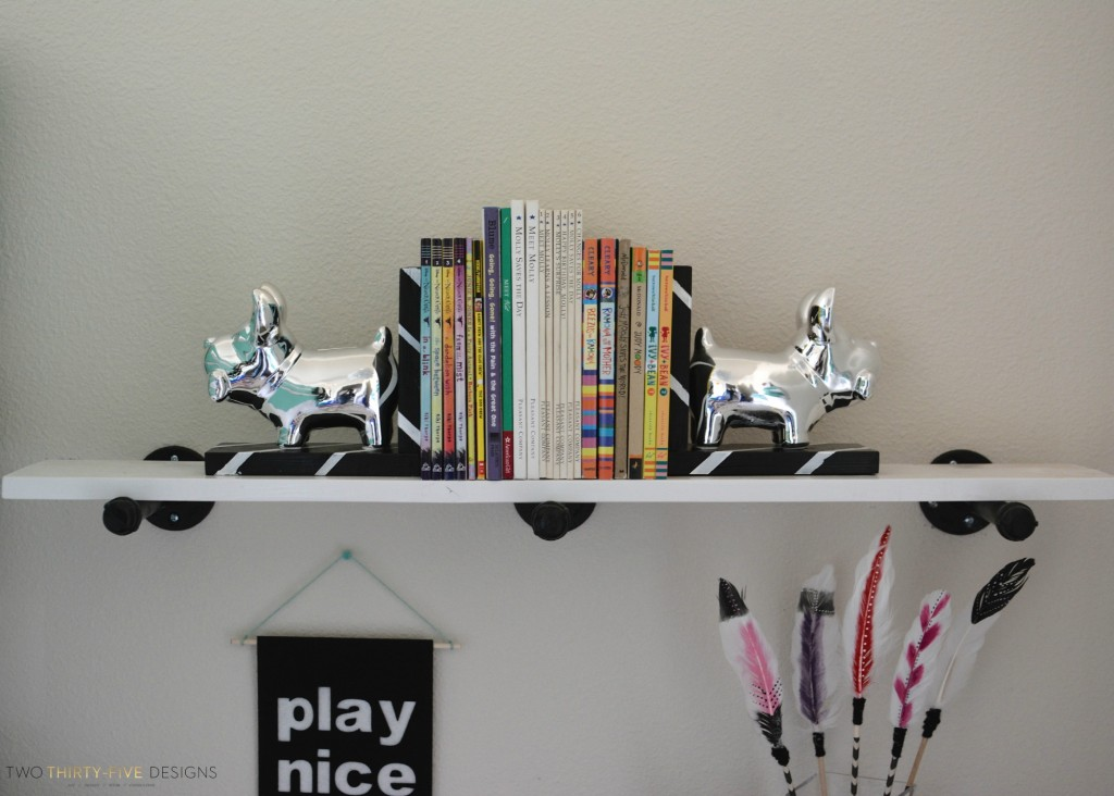 Simple Industrial Shelves Materials by Two Thirty~Five Designs (3)