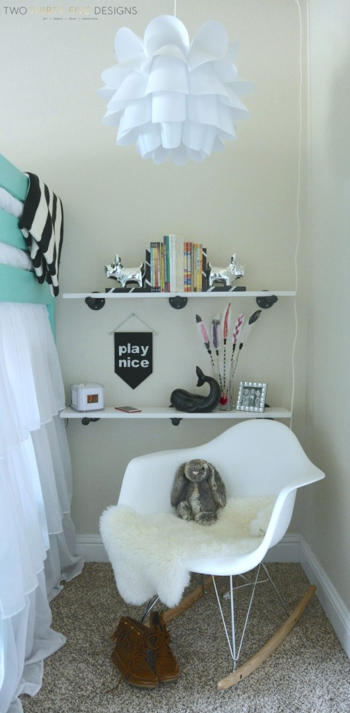 Simple Industrial Shelves Materials by Two Thirty~Five Designs (6)