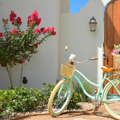 DIY Bicycle Basket by Two Thirty~Five Designs