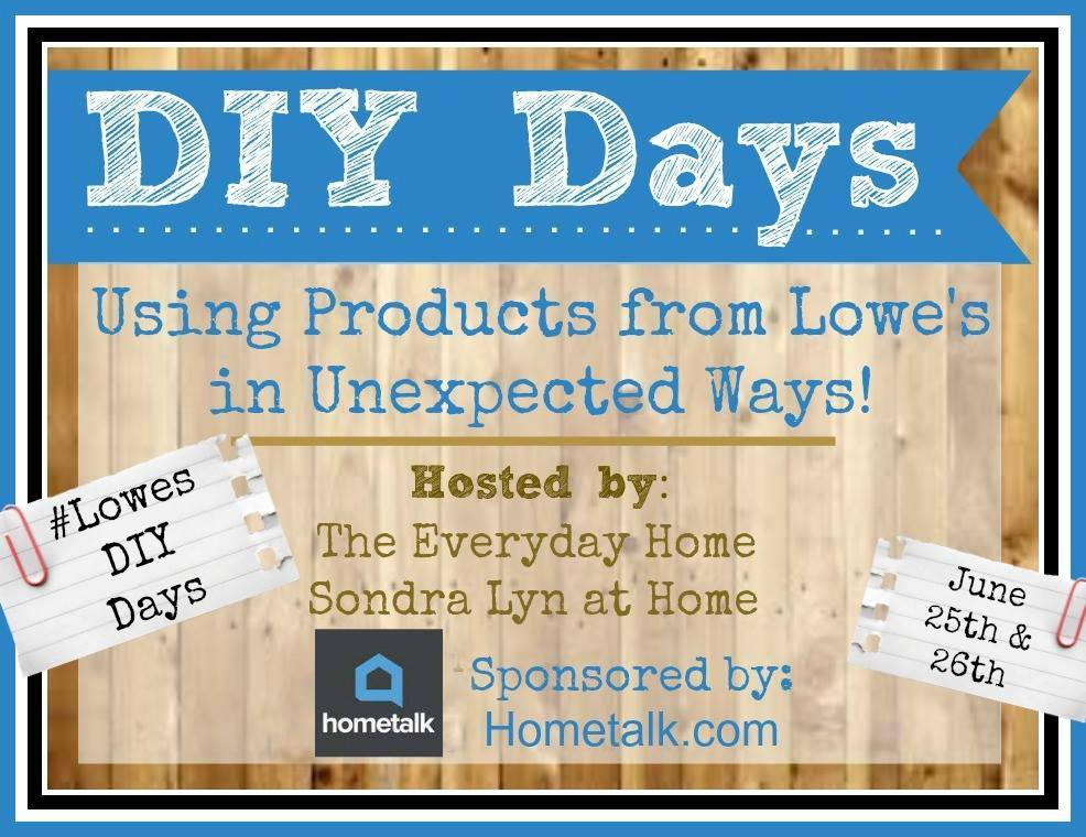 Lowes DIY Days
