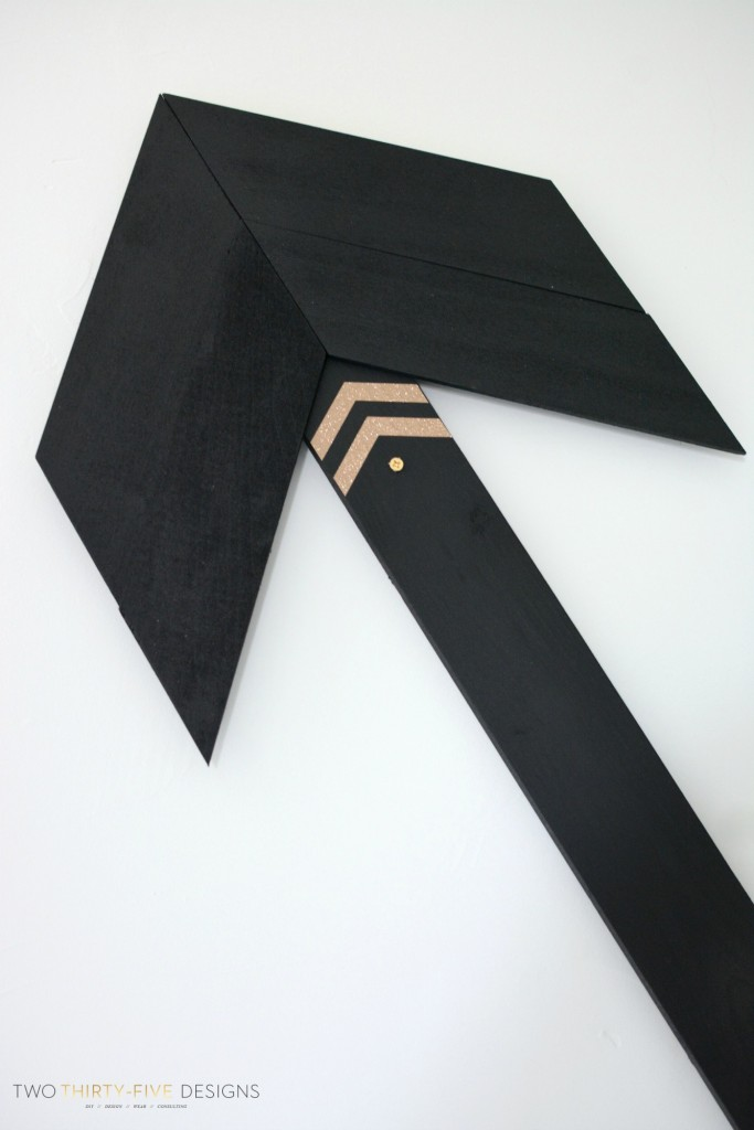 Wooden Wall Arrow by Two Thirty~Five Designs