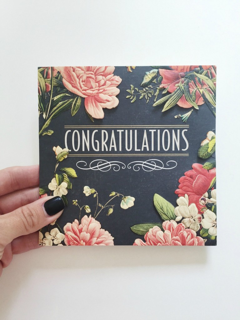 Wedding Gift Ideas Hallmark : ... the Hallmark Signature when I was running through wedding registries