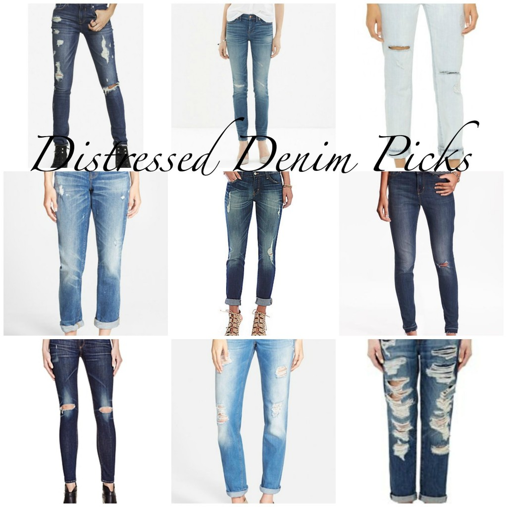 Distressed Denim Picks