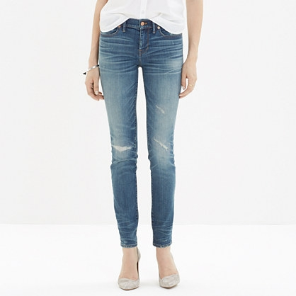 Madewell Skinny Distressed Jeans