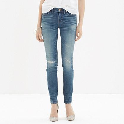 Madewell Skinny Distressed Jeans