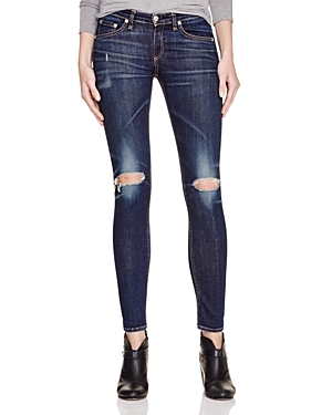 Rag and Bone Skinny Distressed Jean