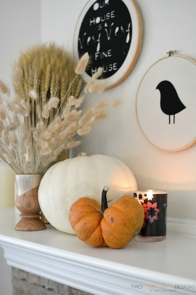 Fall Decor by Two Thirty~Five Designs 1