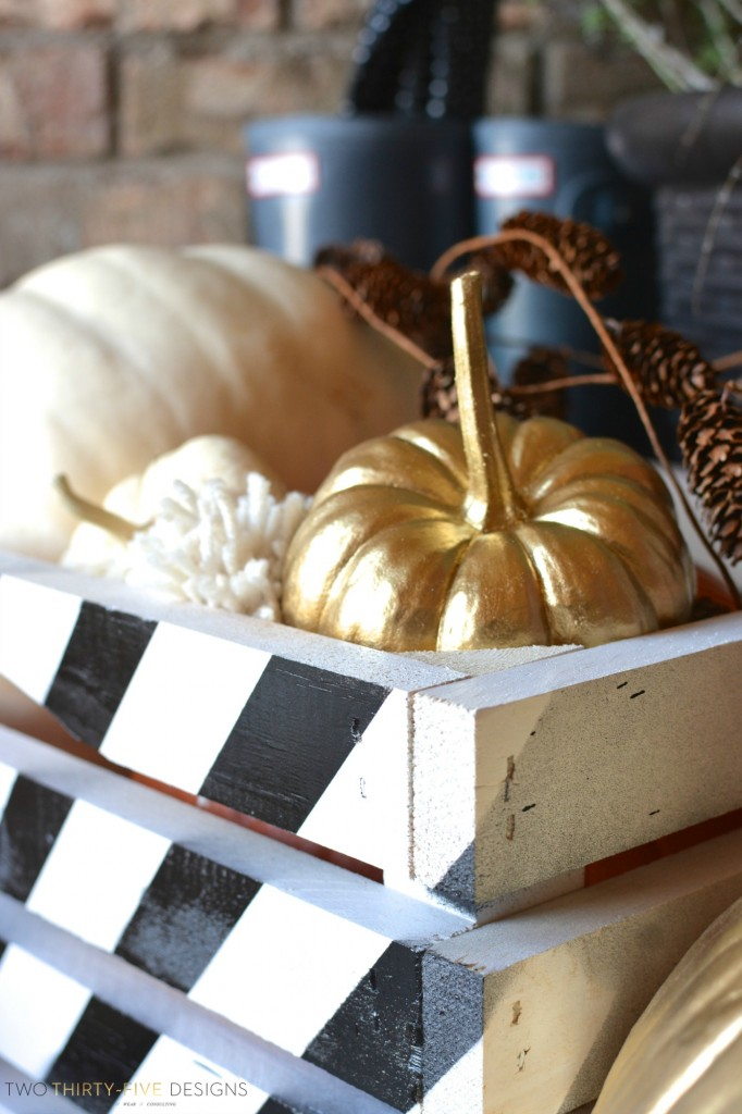 Fall Decorations with Two Thirty~Five Designs