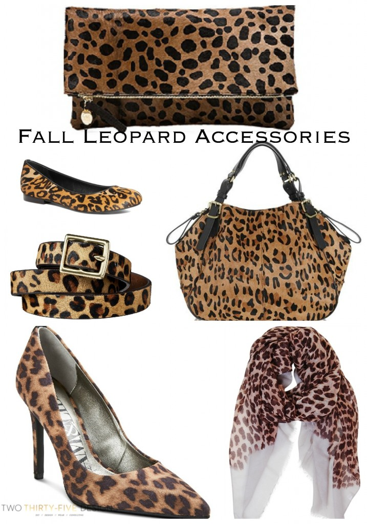 Fall Leopard Accessories