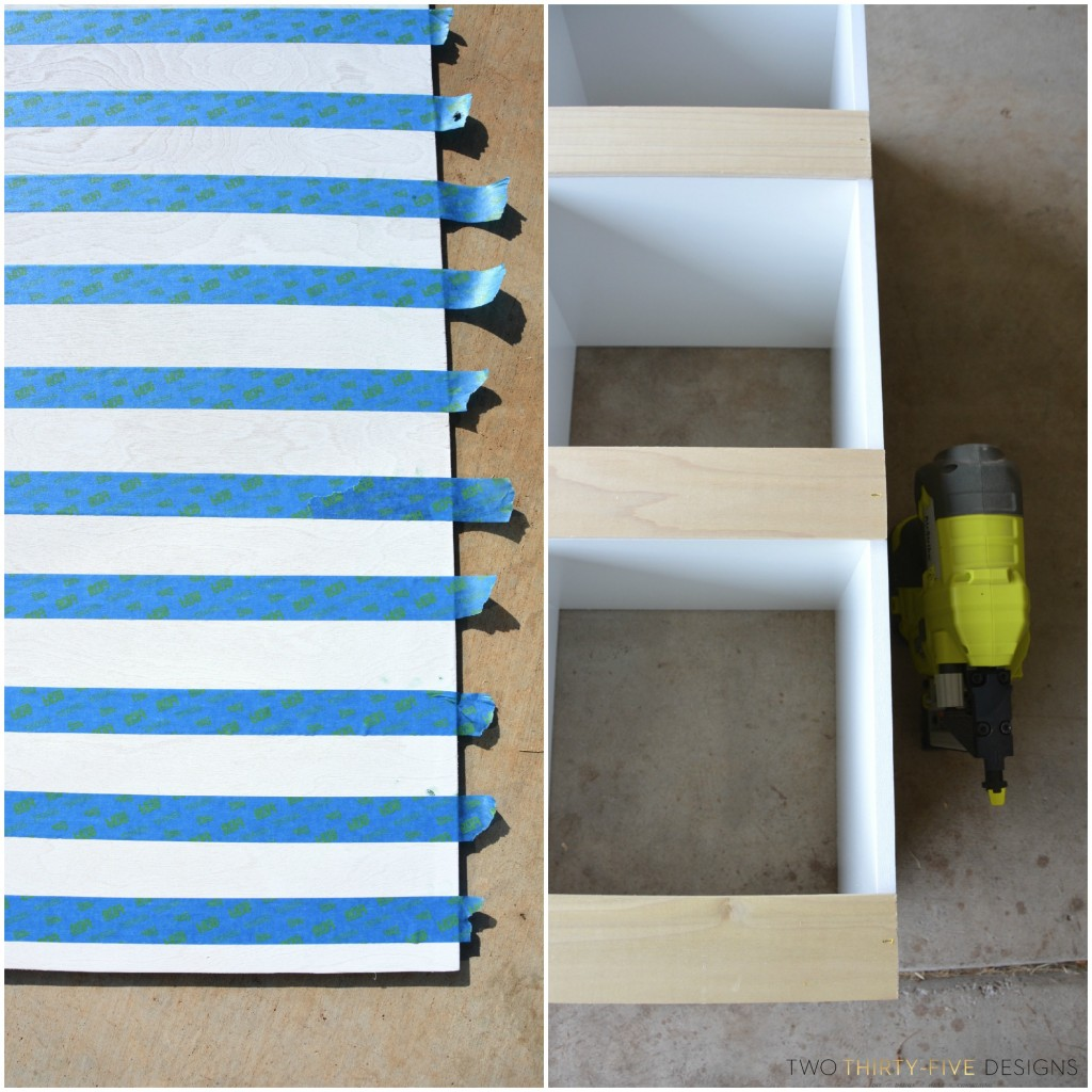 Simple DIY Console by Two Thirty~Five Designs