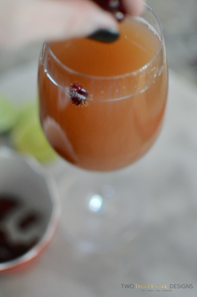 Pomegranate Mimosa's 1
