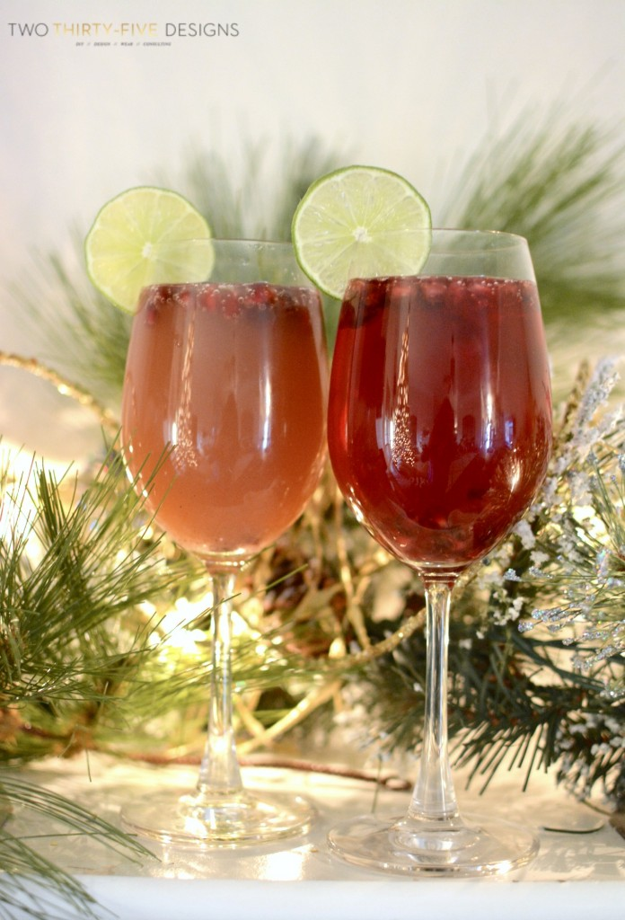 Pomegranate Mimosa's by Two Thirty~Five Designs